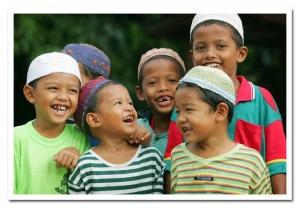 Thailand Muslim Boys